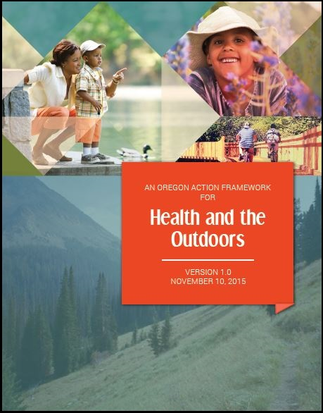 Oregon Health Outdoors Framework cover