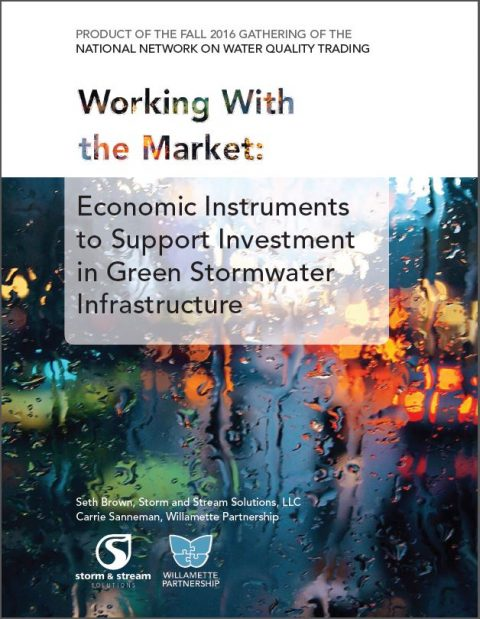 green stormwater infrastructure report, working with the market
