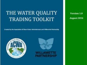 Newly Released Water Quality Trading Policy Templates