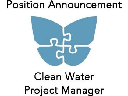 We're Hiring: Clean Water Project Manager