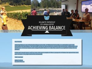 Annual Report: Achieving Balance (2015)