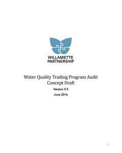 WQT Program Audit Draft Concept