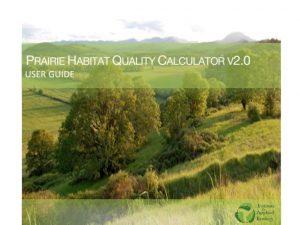 Upland Prairie Habitat Quality Calculator User Guide