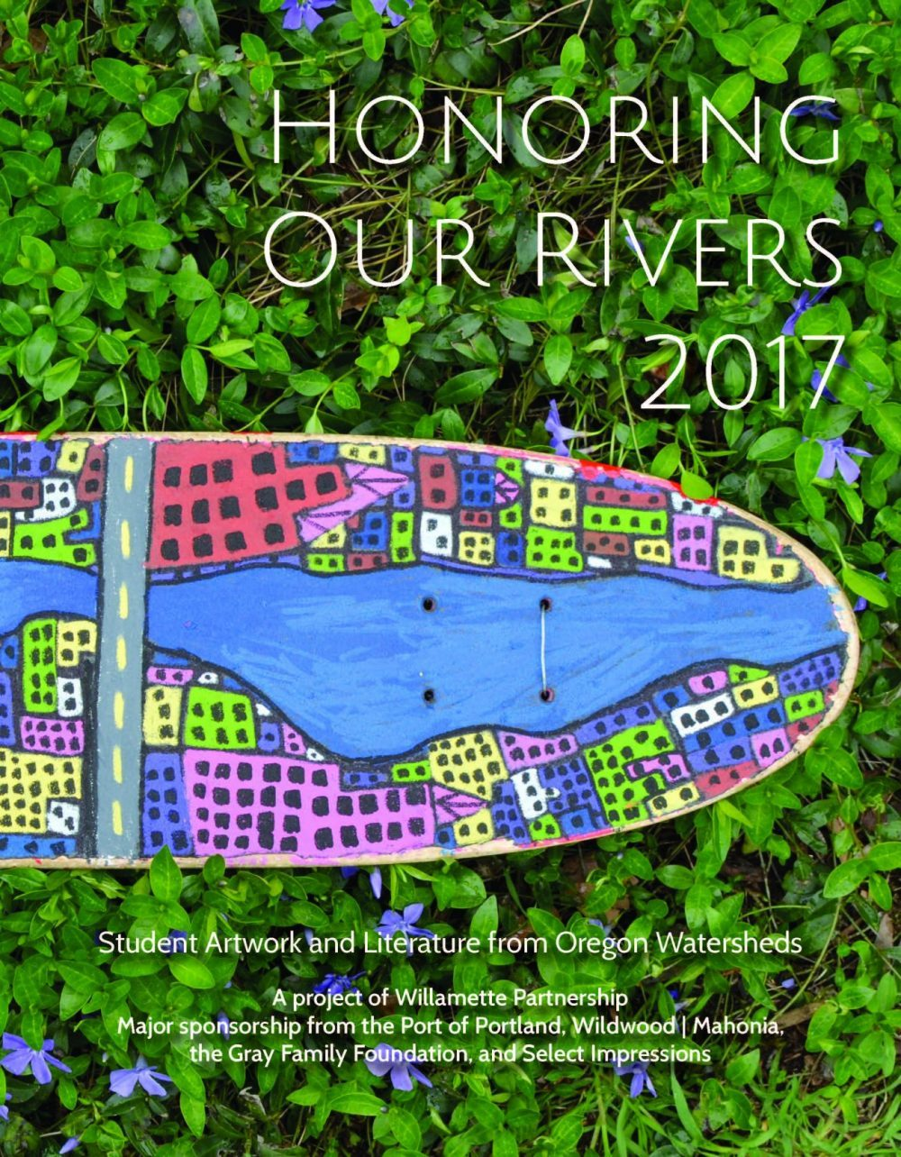 honoring our rivers anthology 2017 cover