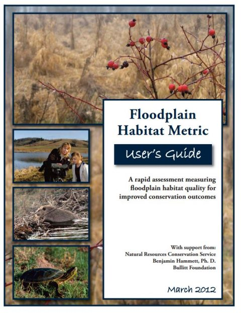 floodplain habitat metric user guide cover