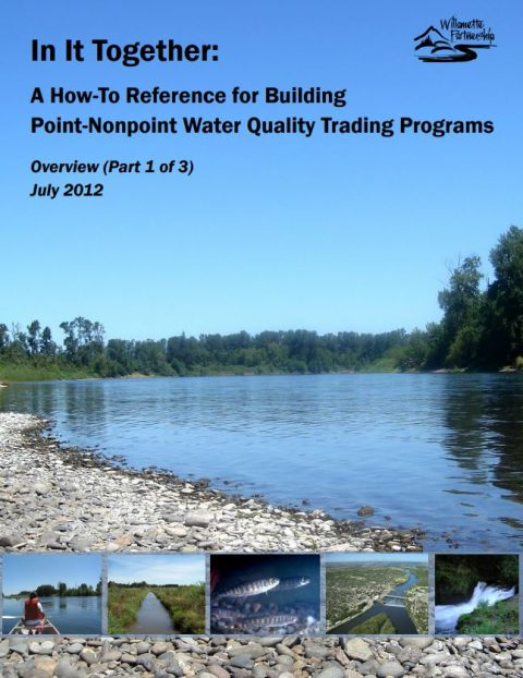 in it together part 1 cover reference for building water quality trading programs