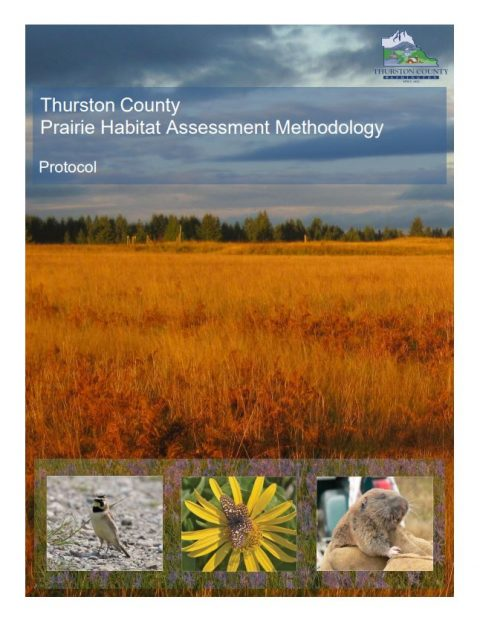 prairie habitat assessment methodology cover