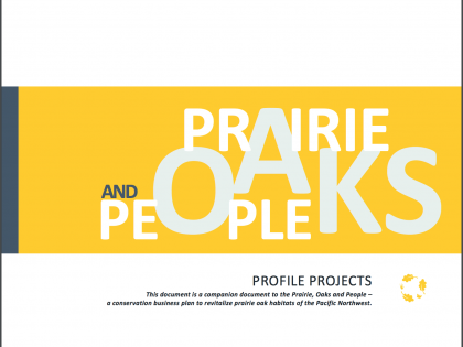 Prairie, Oaks and People: Project Profiles