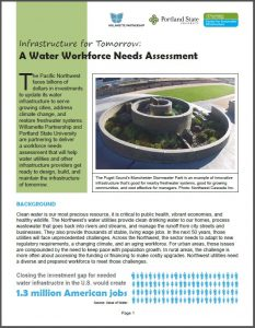 water workforce handout cover