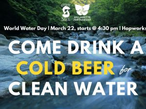 World Water Day Happy Hour
