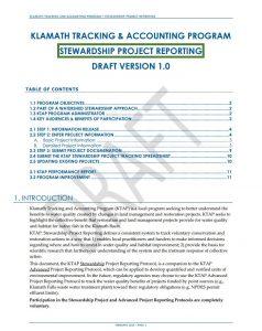ktap stewardship reporting handbook cover