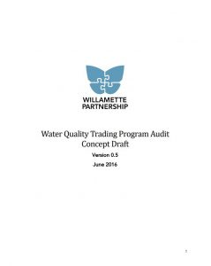 WQT Program Audit Draft Concept