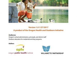 Guideline for Health in Outdoor Education