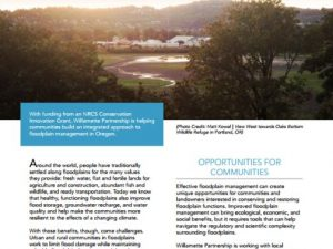 Fact Sheet: Integrated Floodplain Management