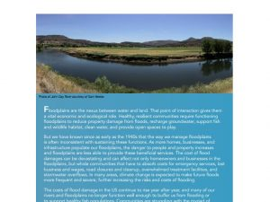 Smarter Floodplain Management Strategies