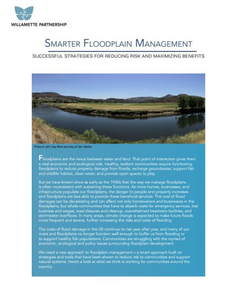 smarter floodplain management strategies