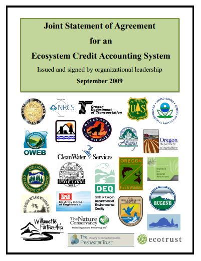 joint agreement statement for ECAS, counting on the environment