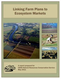 linking farm plans to ecosystem markets cover