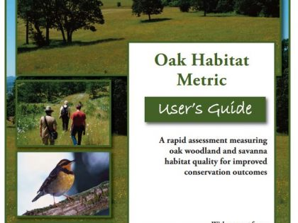 Oak Habitat Metric User's Guide and Calculator