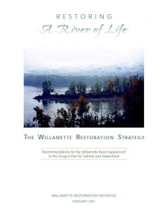 willamette restoration strategy 2001