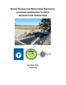 water transaction monitoring protocol