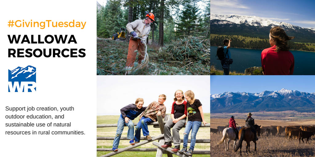 Wallowa Resources Giving Tuesday