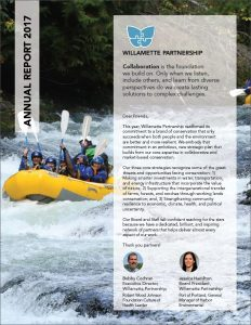 annual report 2017 willamette partnership