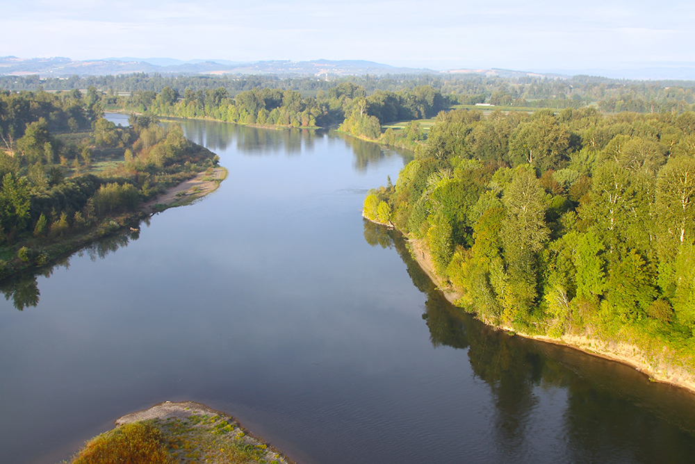 Willamette River Temperature Oregon