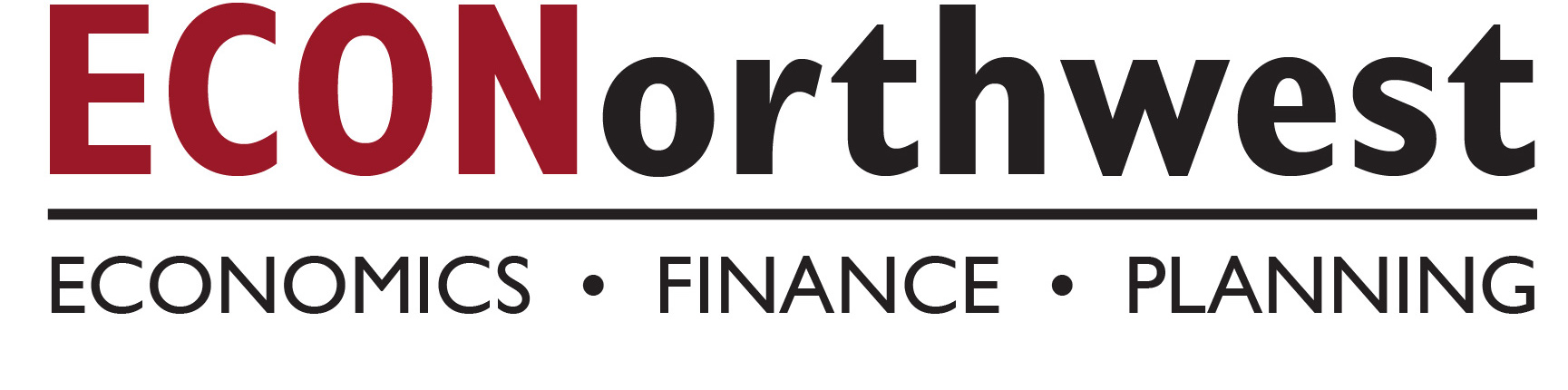 econorthwest logo, oregon's bounty