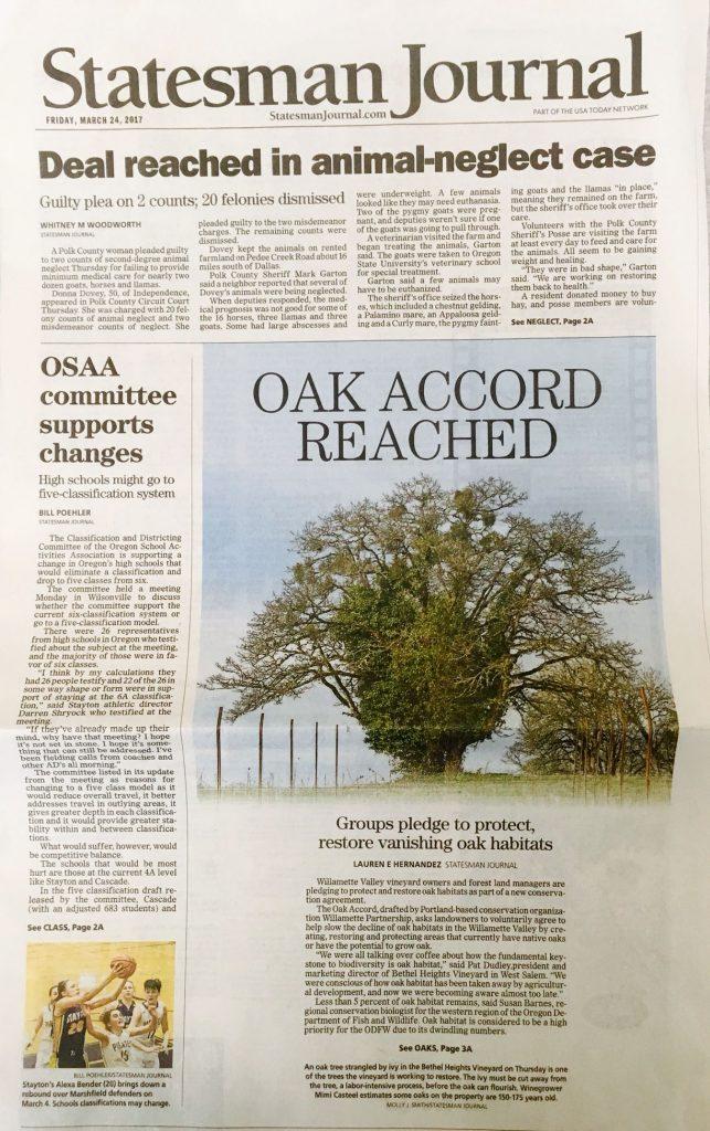 Oak Accord Statesman Journal