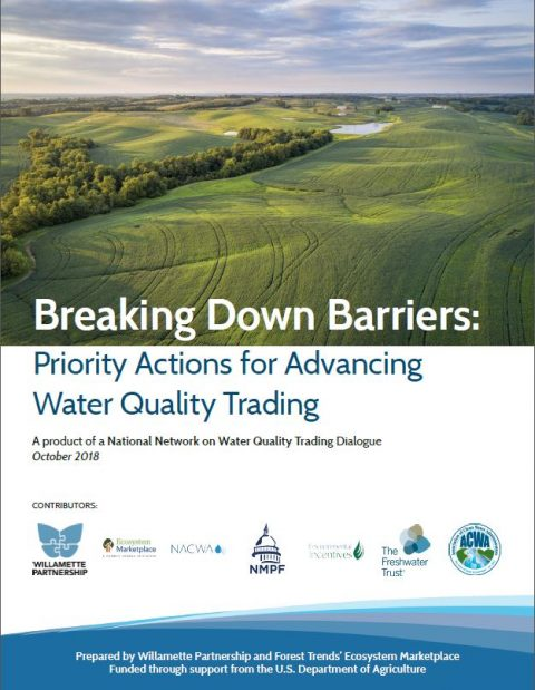 cPriority Actions for Advancing Water Quality Trading