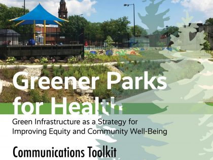 Greener Parks for Health