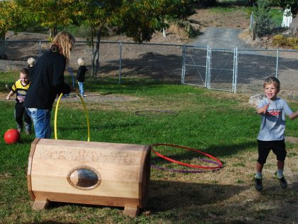Reimagining Outdoor Head Start Preschools in Tygh Valley